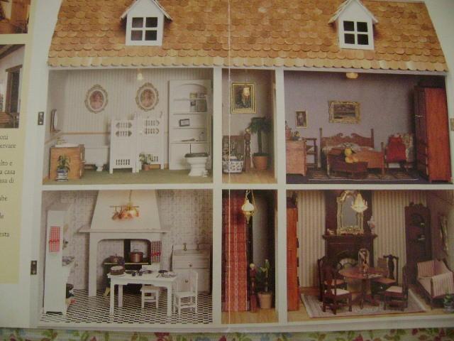 Ben noto Vendo casa delle bambole edizioni Del Prado,1^ediz. con accessori  NP55